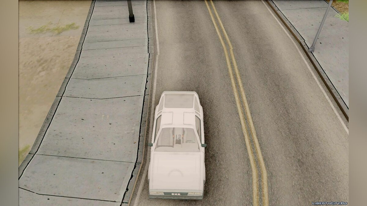 Delorean car DeLorean Street for GTA San Andreas