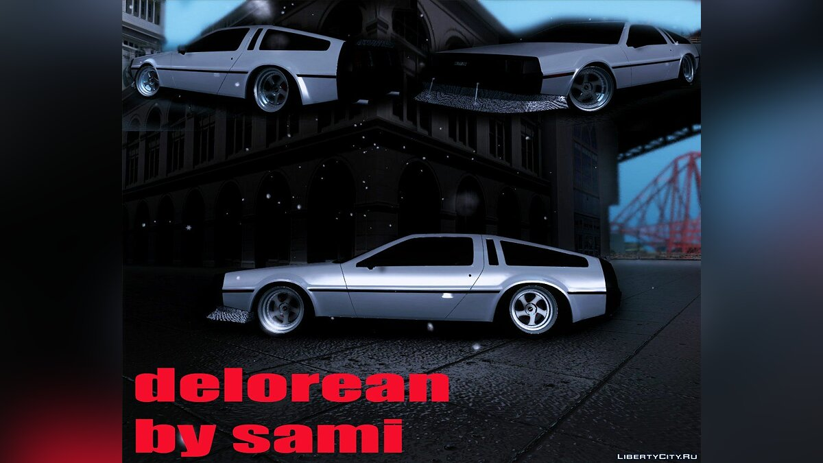 Delorean car Delorean Drift for GTA San Andreas