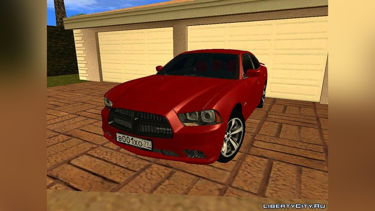 Dodge car Dodge Charger RT 2013 for GTA San Andreas