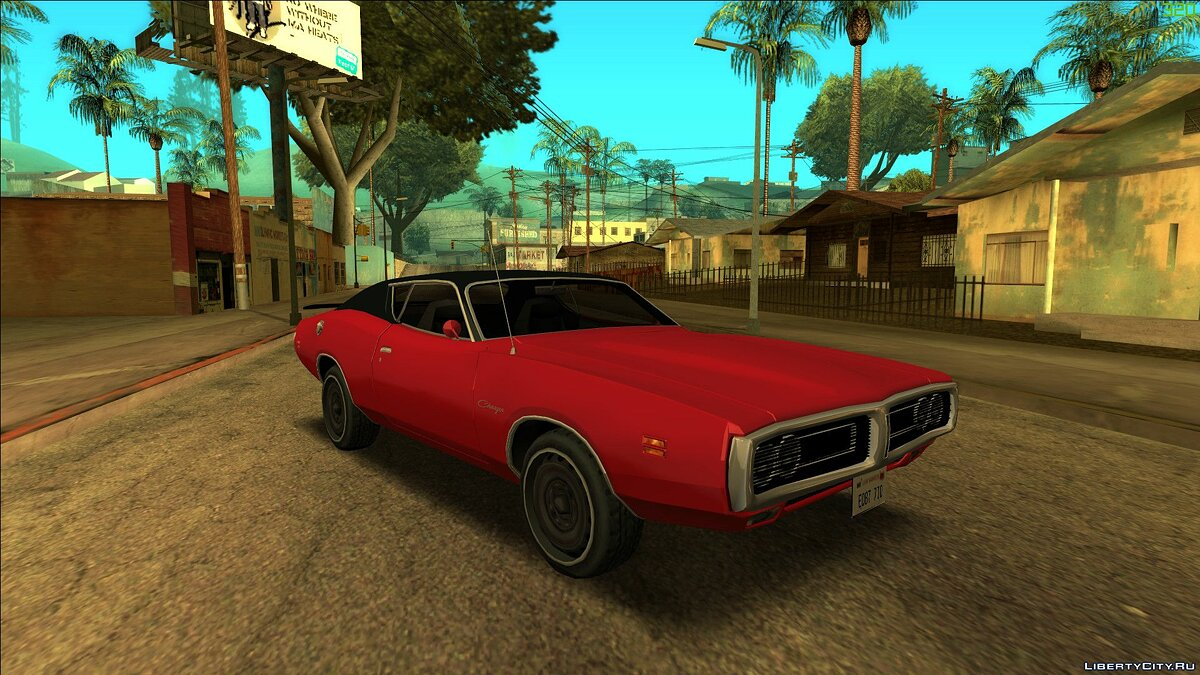Dodge car Dodge Charger Super Bee 1971 for GTA San Andreas