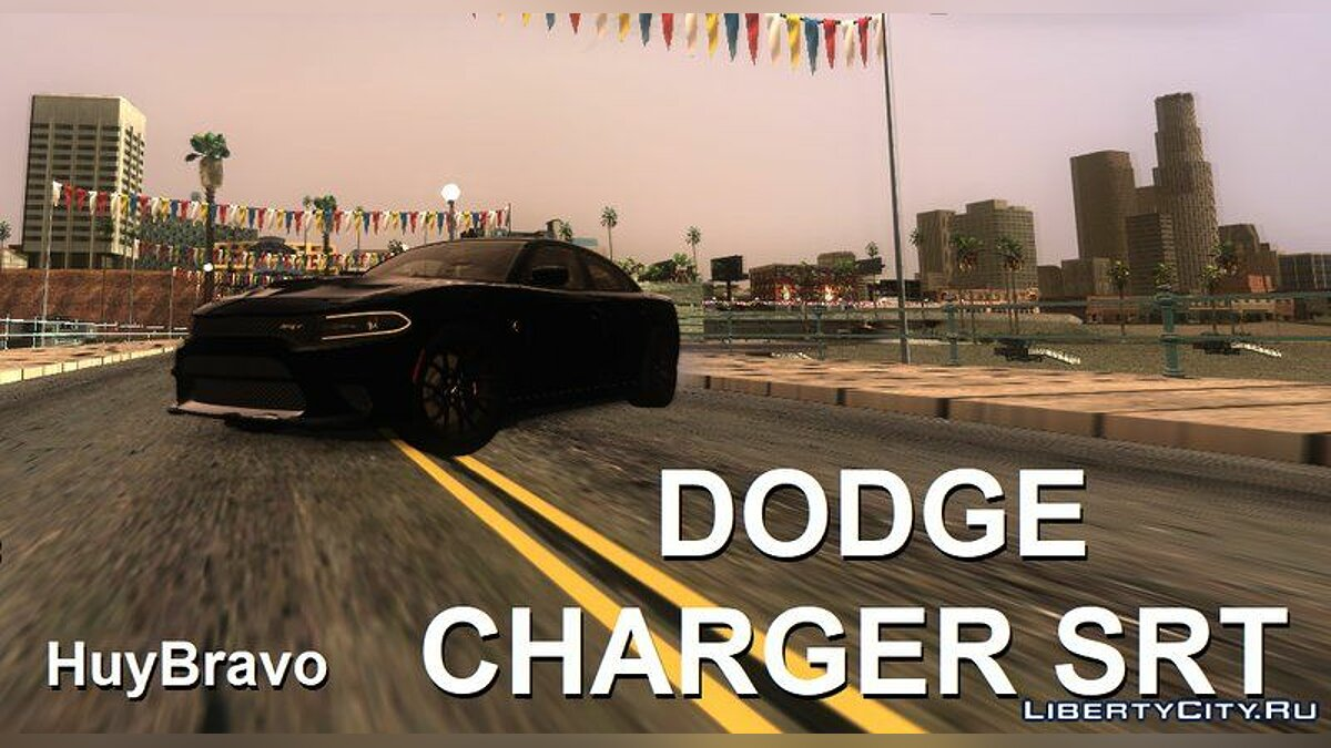 Dodge car Dodge Charger SRT + Your sounds for GTA San Andreas