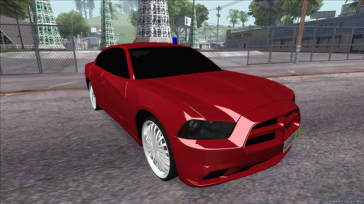 Dodge car Dodge Charger SRT8 for GTA San Andreas