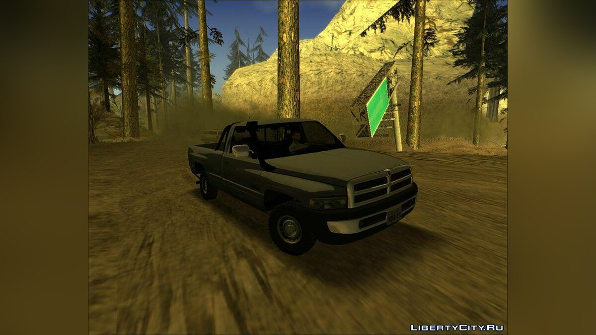 Dodge car Dodge Ram 2500 1994 - Improved for GTA San Andreas