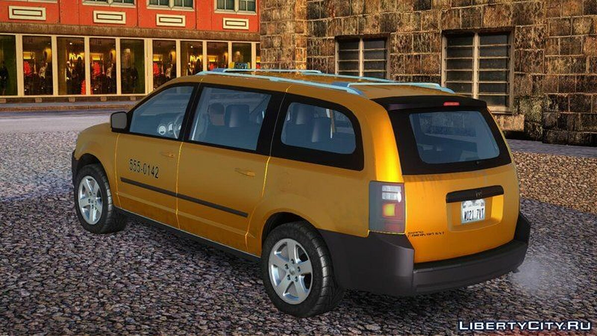 Dodge car Dodge grand caravan taxi for GTA San Andreas