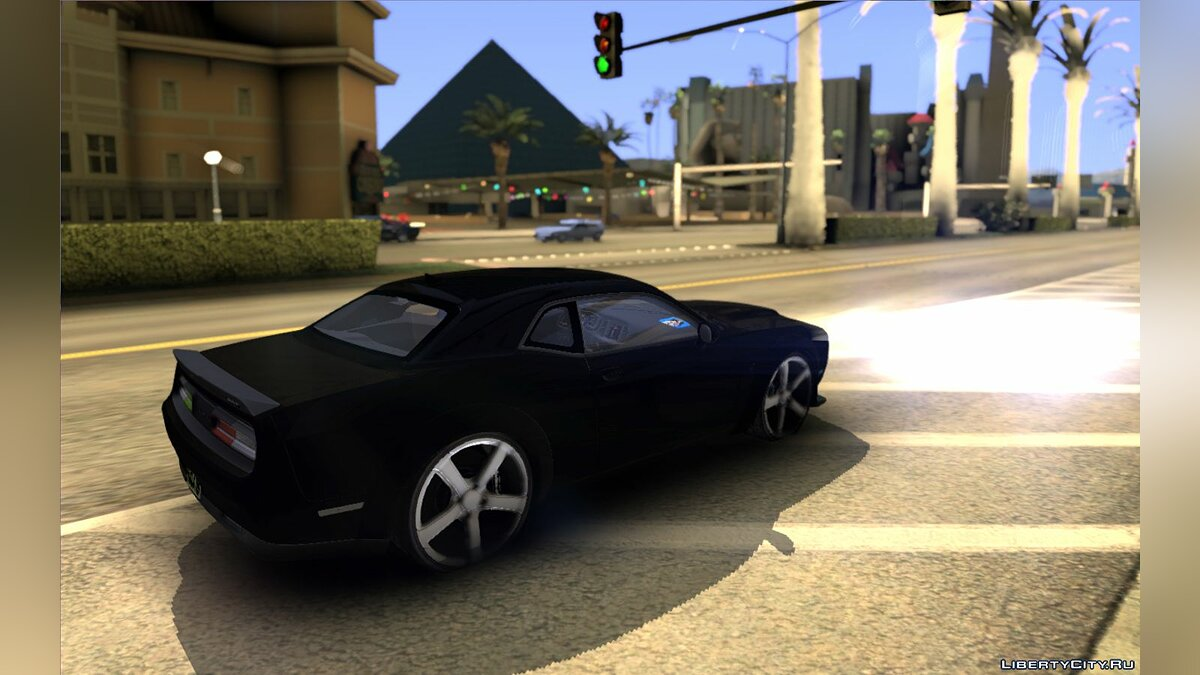 Dodge car Dodge Challenger do Tj Gamer do Vida de Jovem for GTA San Andreas