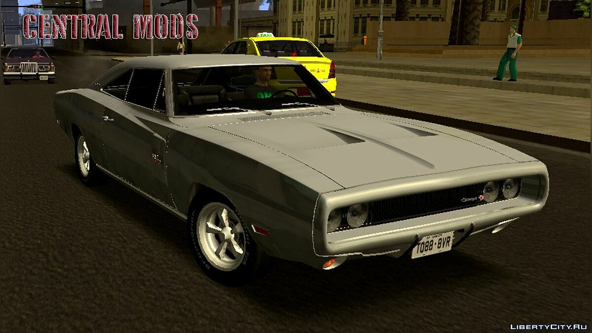 Dodge car Dodge Charger RT 1970 + Extras for GTA San Andreas