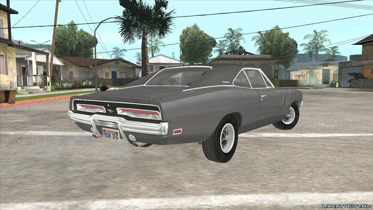 Dodge car Dodge Charger 1969 for GTA San Andreas