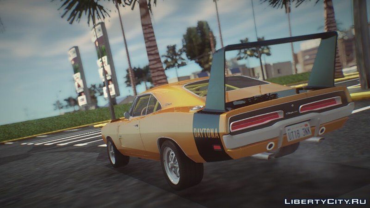 Dodge car 1969 Dodge Charger Daytona for GTA San Andreas
