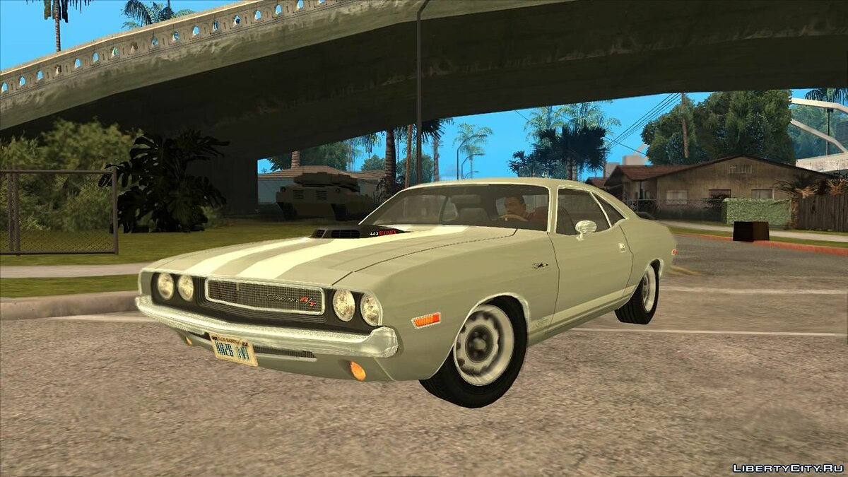 Dodge car Dodge Challenger 440 Six Pack 1970 for GTA San Andreas