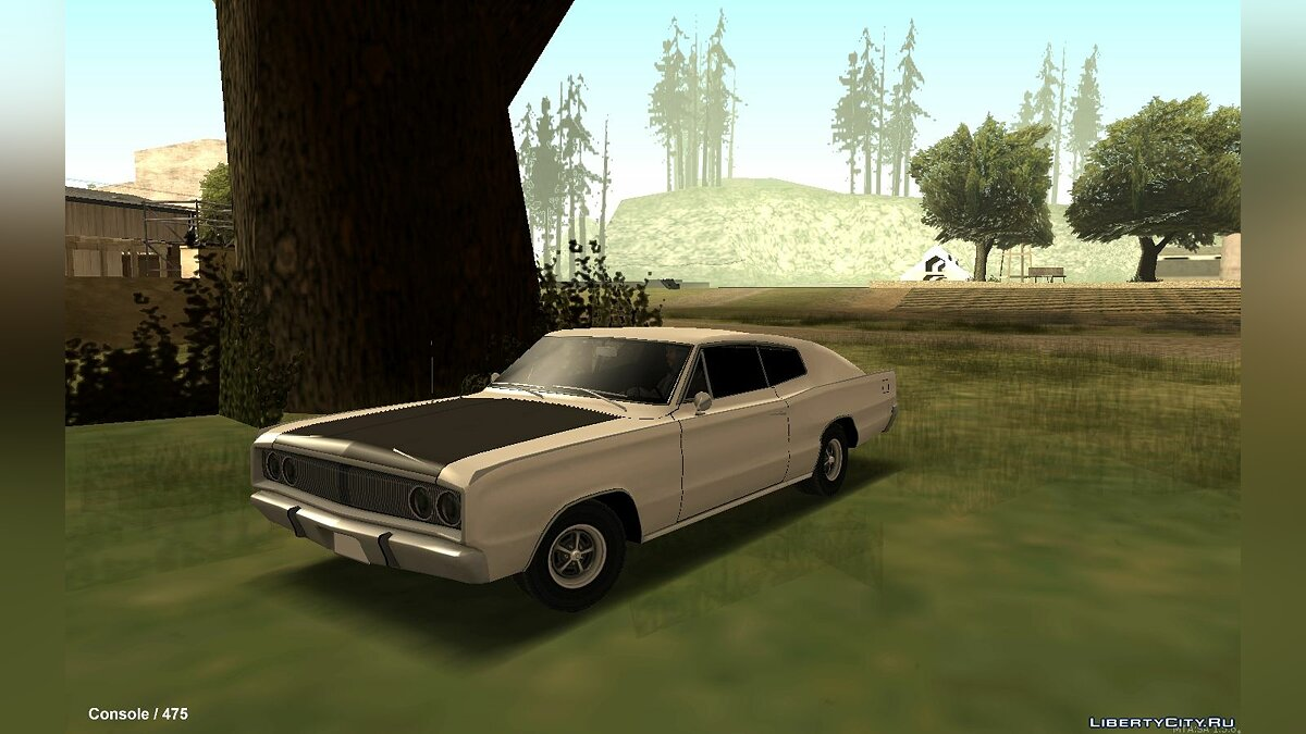 Dodge car Dodge Charger R / T '67 [LQ] for GTA San Andreas