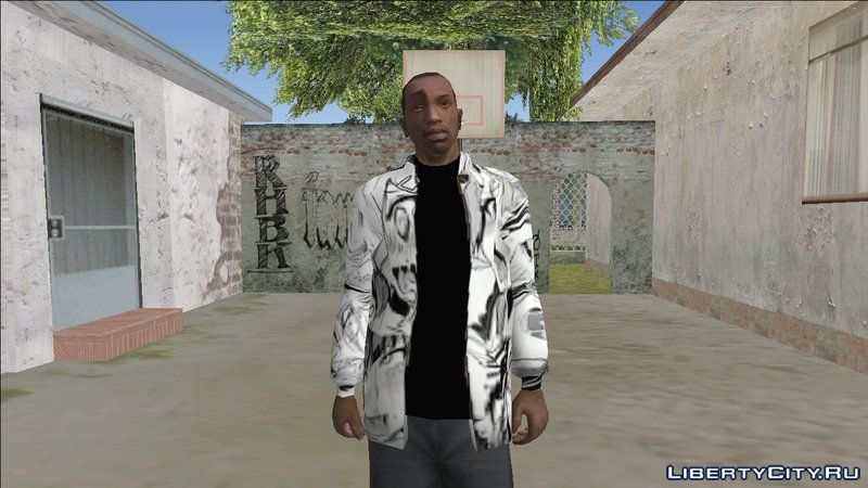 Replacement of player img in GTA San Andreas (89 file)