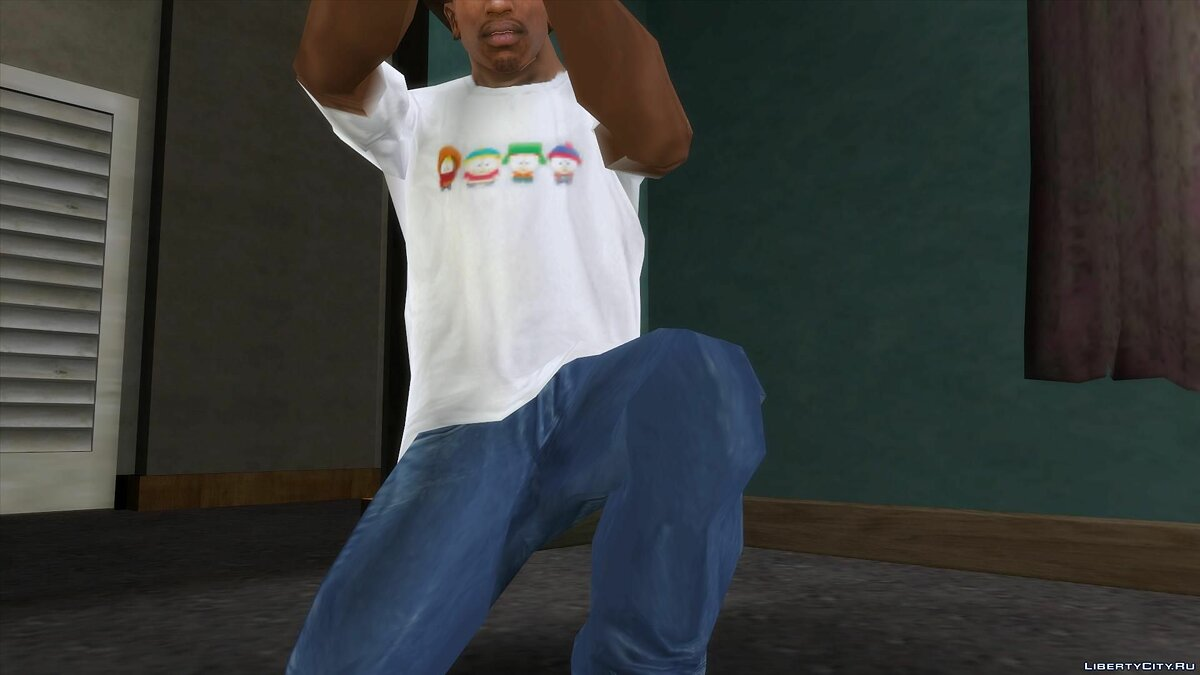 Pullovers and T-shirts Baby South Park T-Shirt for GTA San Andreas