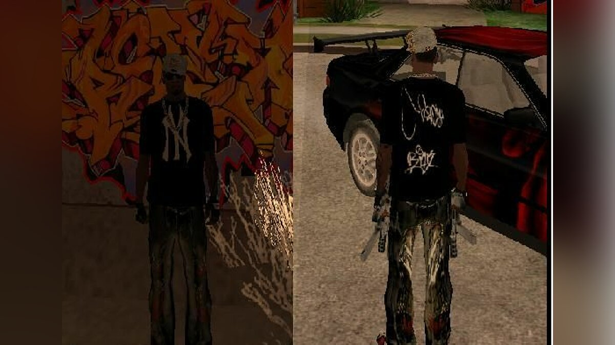 Pullovers and T-shirts RAP T-Shirt for GTA San Andreas