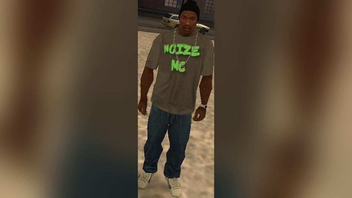 Pullovers and T-shirts T-shirt Noize Mc for GTA San Andreas