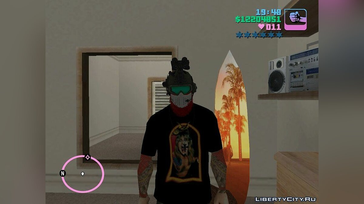 Pullovers and T-shirts Metal T-shirt Collection for GTA San Andreas