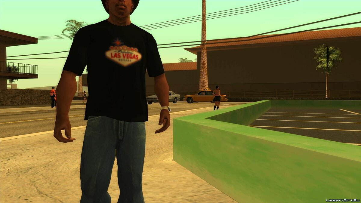 Pullovers and T-shirts Las vegas t-shirt for GTA San Andreas