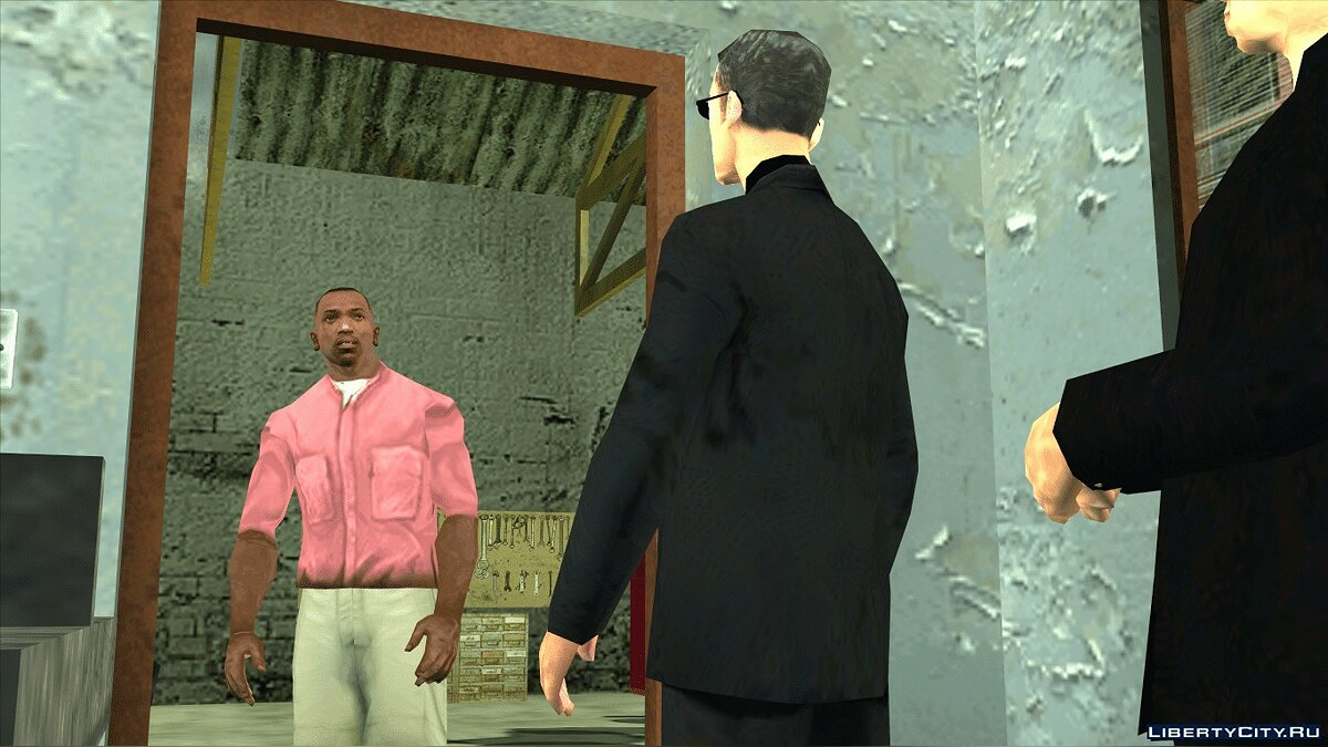 Pullovers and T-shirts Ped's clothes for GTA San Andreas