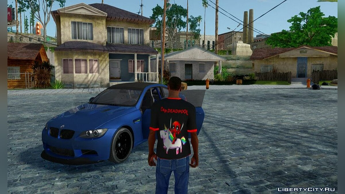 Pullovers and T-shirts Deadpool T-shirt for GTA San Andreas