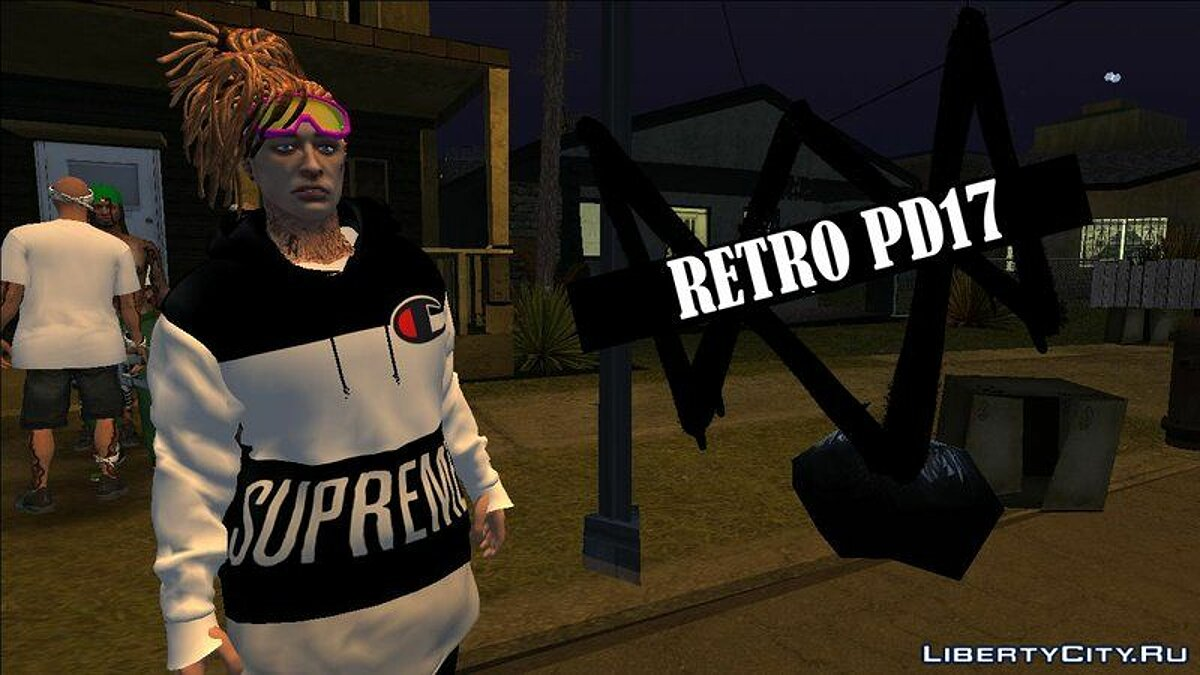 Pullovers and T-shirts Pak hoodies for GTA San Andreas