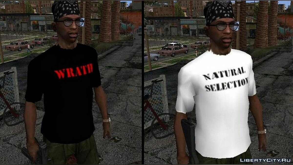 Pullovers and T-shirts Columbine T-shirt for GTA San Andreas