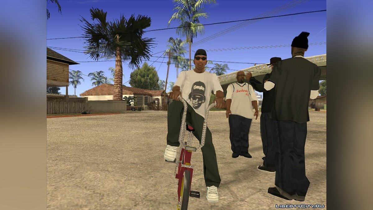 Pullovers and T-shirts T-shirt Eazy-E for GTA San Andreas