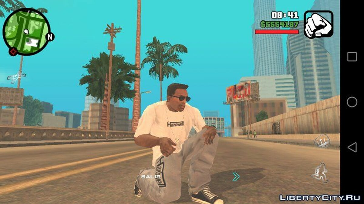 Pullovers and T-shirts Штаны и футболка DJ Hardwell for GTA San Andreas