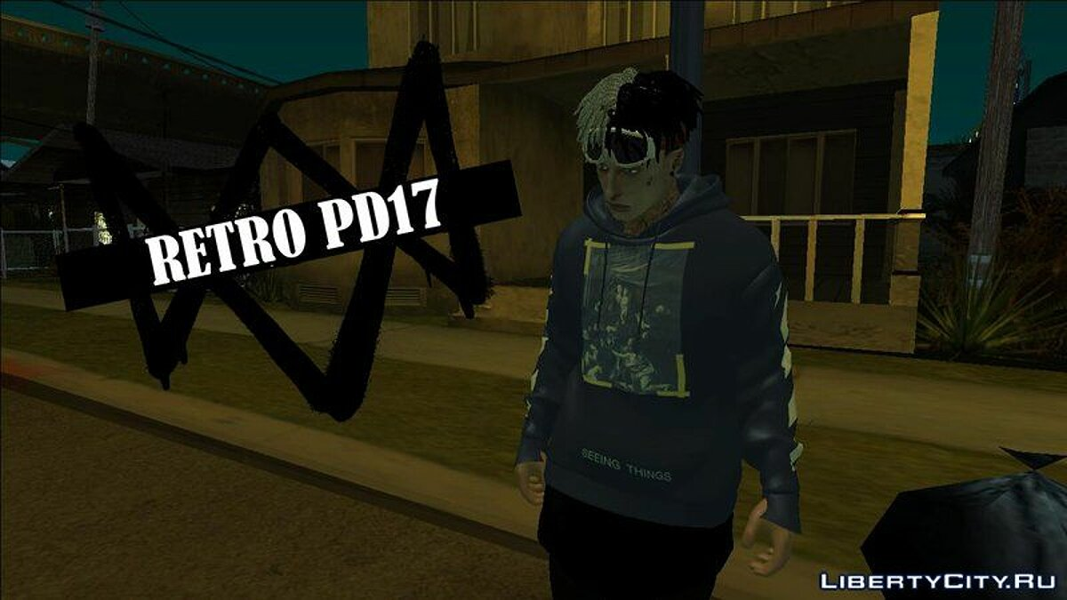 Pullovers and T-shirts Lil Glock Sweatshirt for GTA San Andreas
