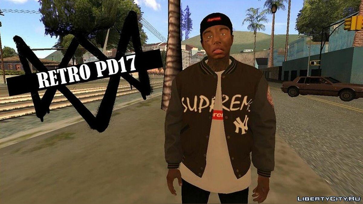 Pullovers and T-shirts A collection of jackets for Frnaklin for GTA San Andreas
