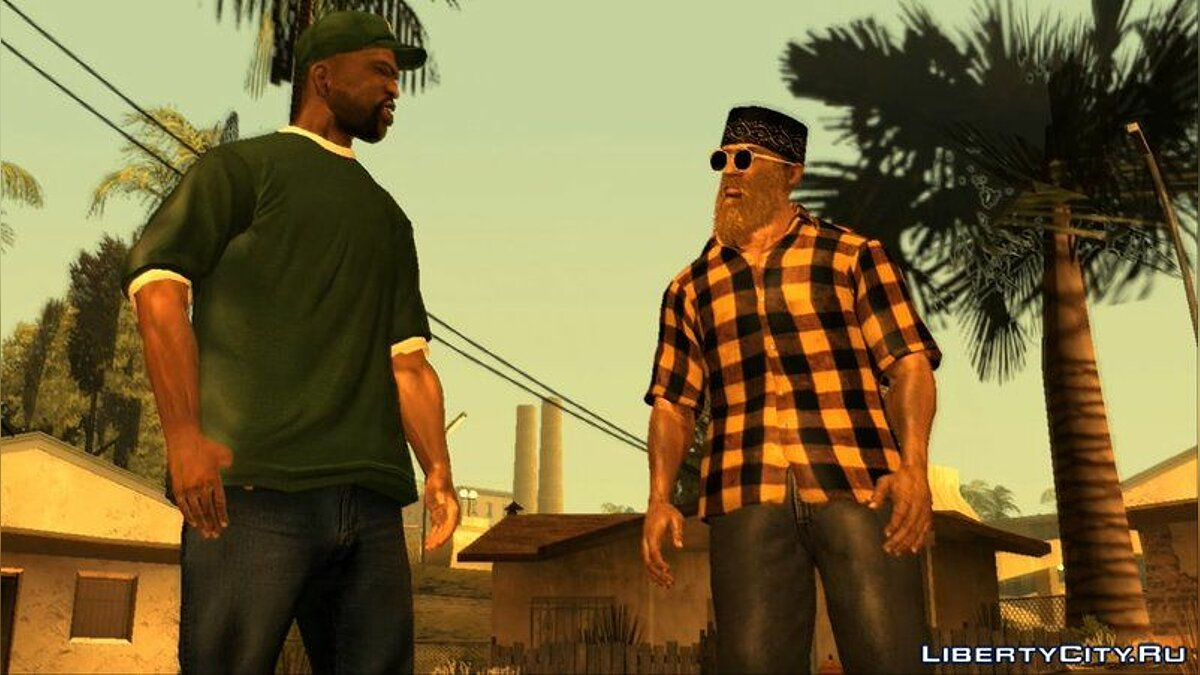 Pullovers and T-shirts Рубашки Batik & Squared for GTA San Andreas