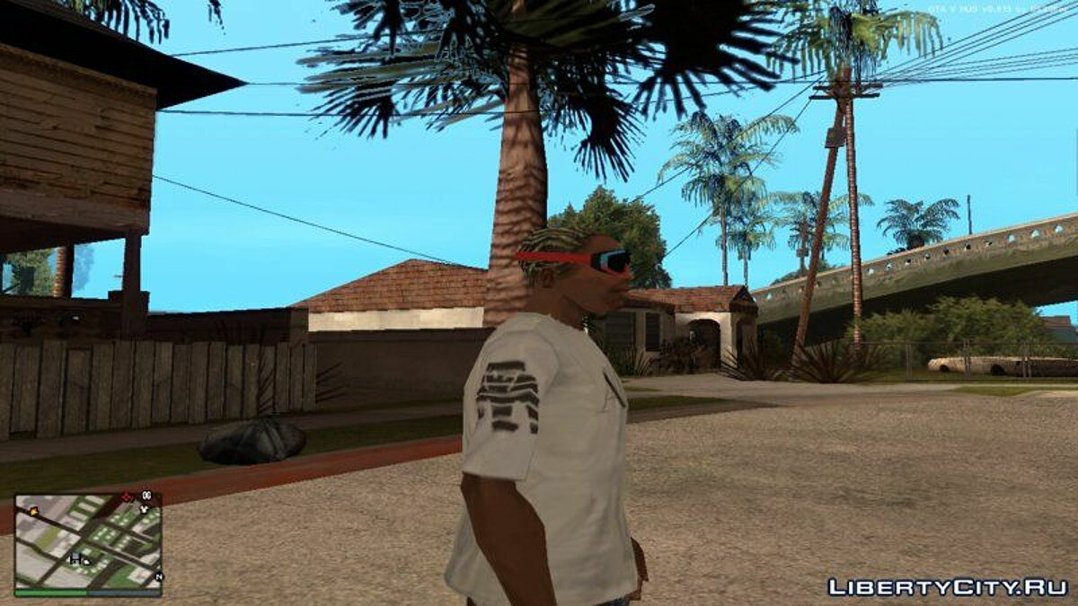 Pullovers and T-shirts T-shirt Armani Exchange for GTA San Andreas