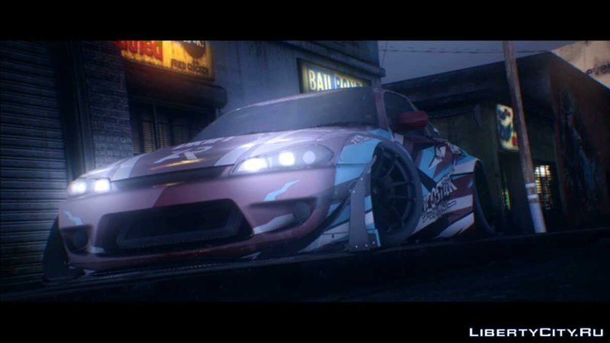 ENB mod NFS 2015 Graphics Style (SA_DX 2.0 Config) - Graphics from NFS 2015 for GTA San Andreas