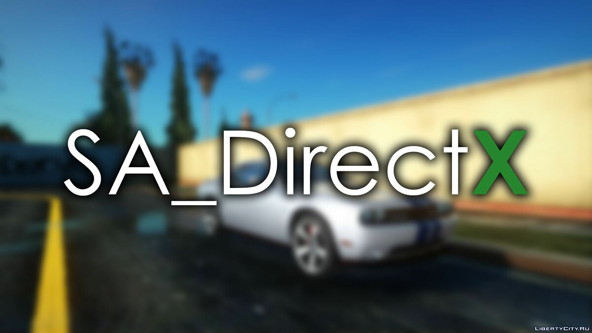 SA_DirectX v1.3 Beta for GTA San Andreas