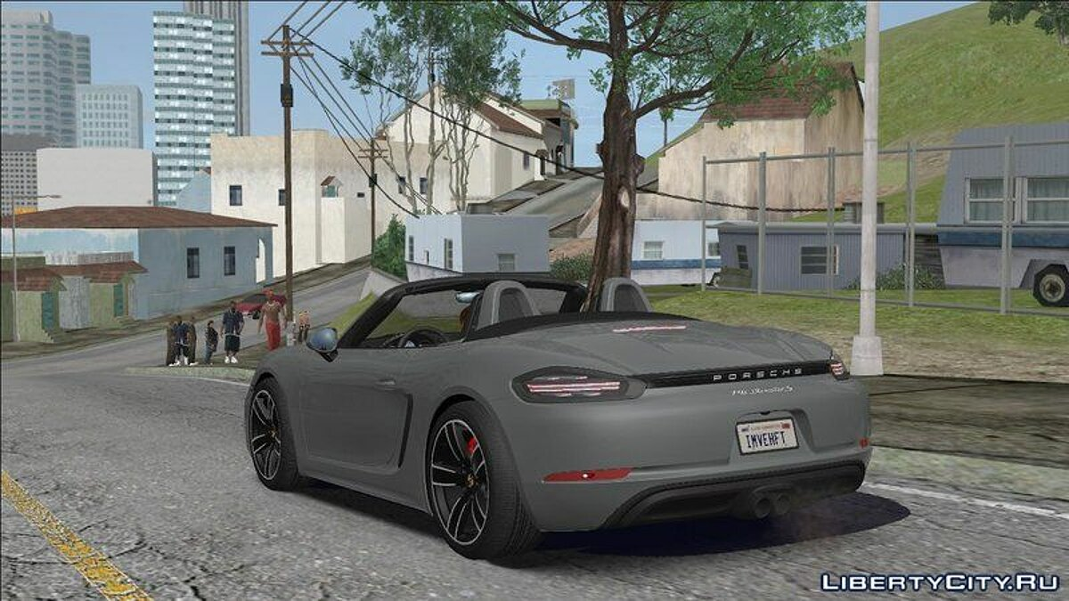 ENB mod Shadows and reflections in GTA 5 for weak PCs for GTA San Andreas