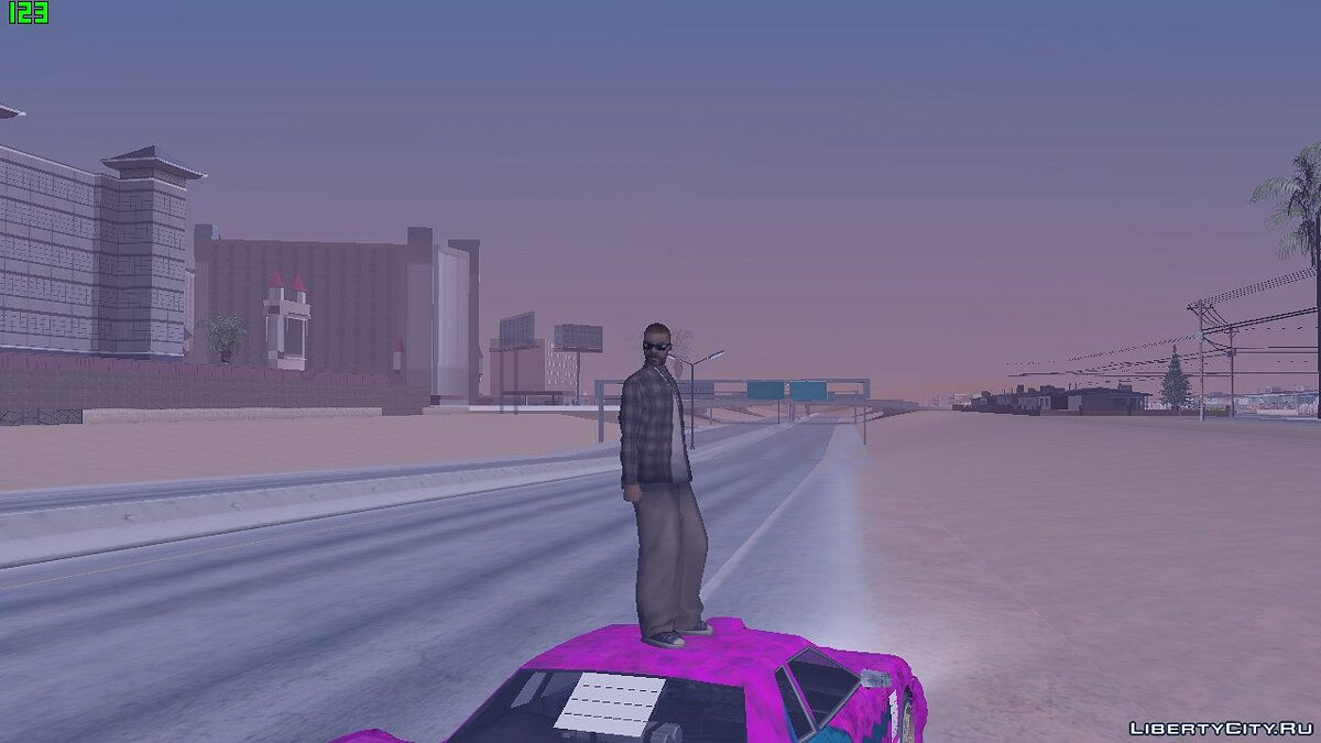 ENB mod Nice colormod for very weak PCs for GTA San Andreas