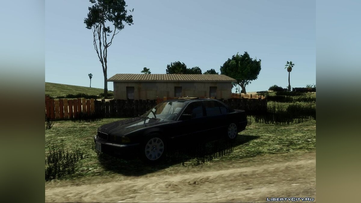 ENB mod Realistic graphics for GTA San Andreas