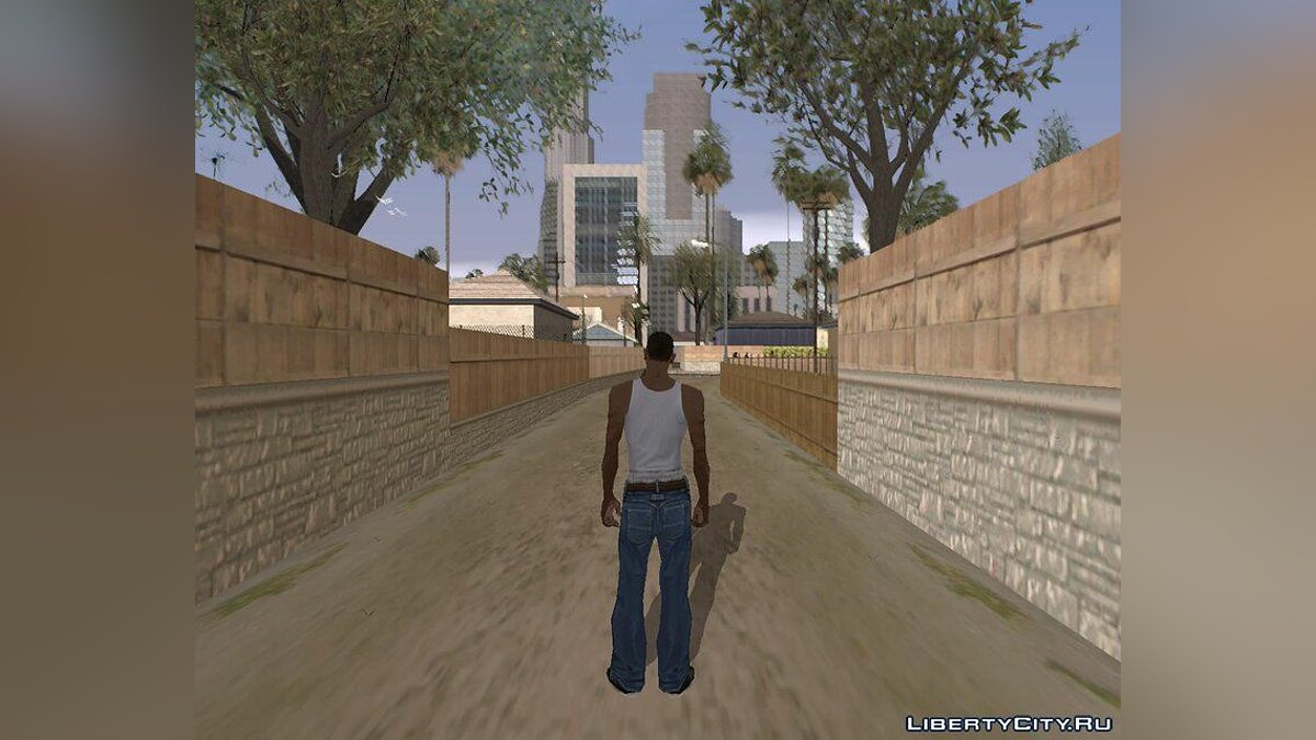 ENB mod DannO ENB for low PC for GTA San Andreas
