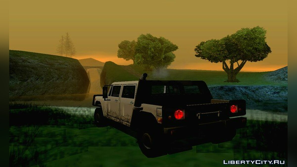 ENB mod ENB in ​​the style of the 90s for GTA San Andreas