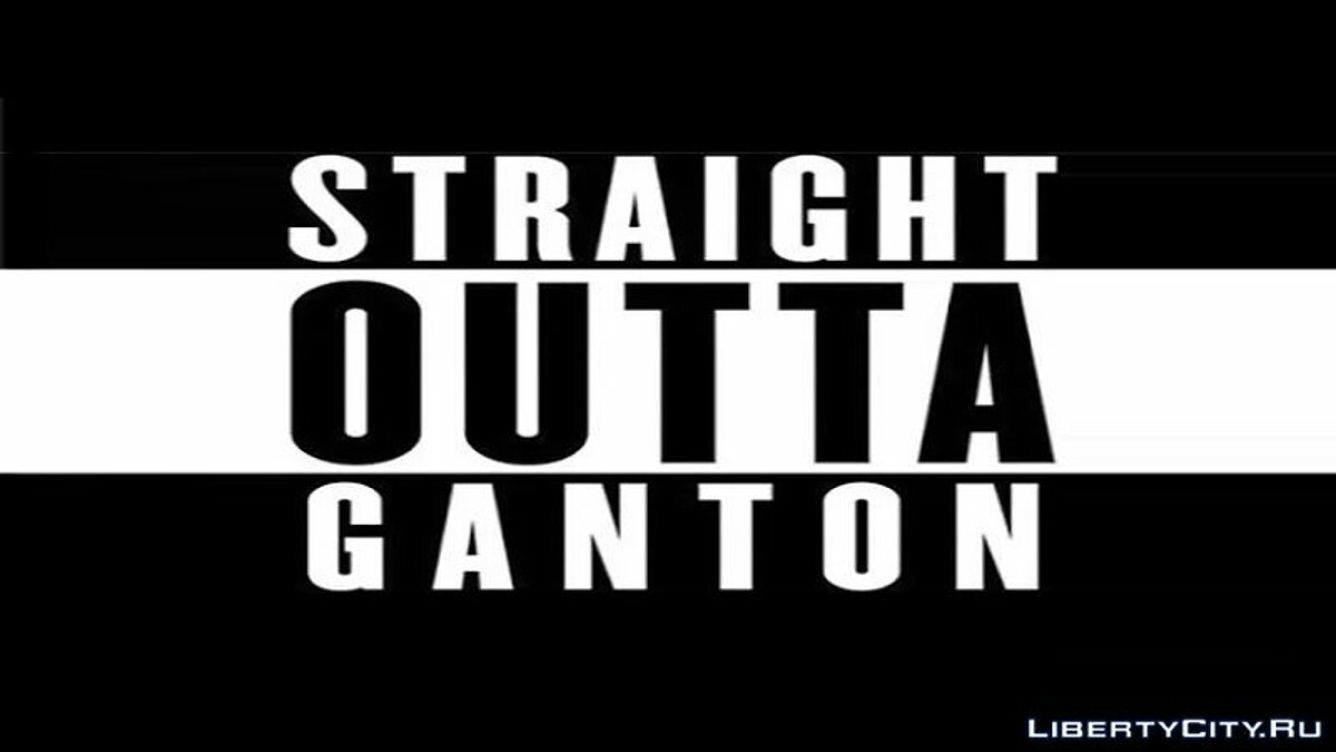 Fan video Straight outta compton for GTA San Andreas