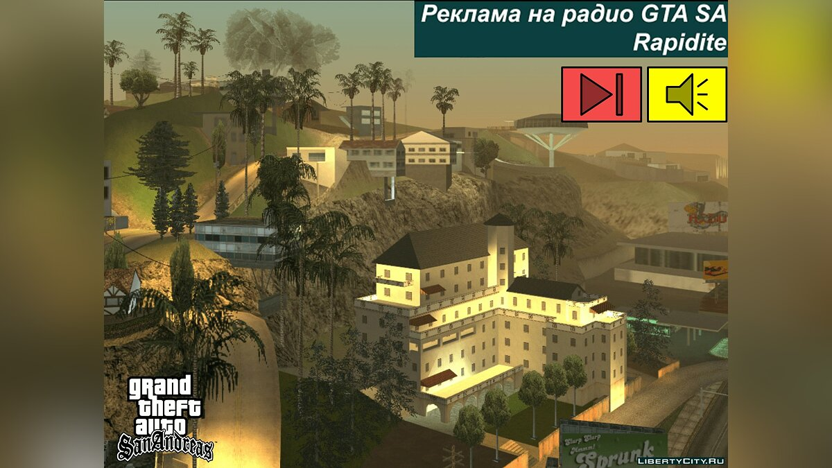 Fan video The 7th part of the translation of advertising on radio GTA SA for GTA San Andreas