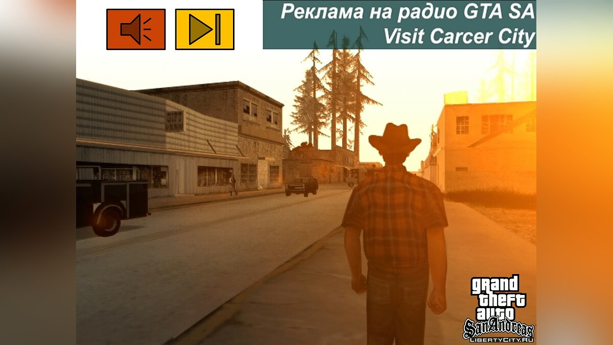 Fan video The 6th part of the translation of advertising on radio GTA SA for GTA San Andreas