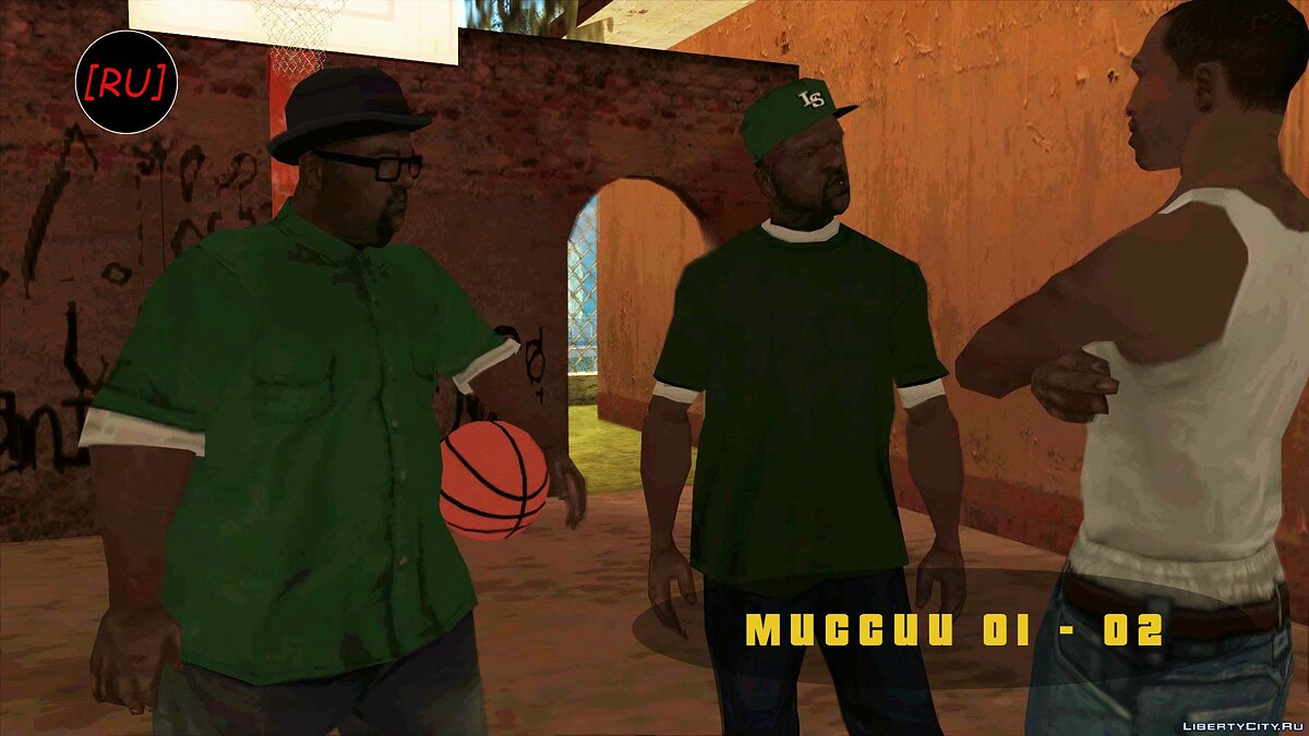 Fan video [RU] GTA San Andreas - Mission 01-02 (Russian voice acting) for GTA San Andreas