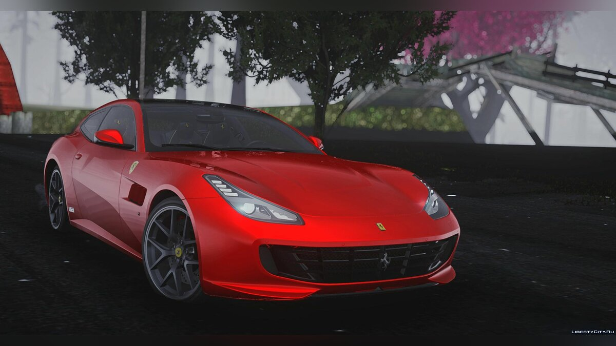 Ferrari car Ferrari GTC4 Lusso for GTA San Andreas