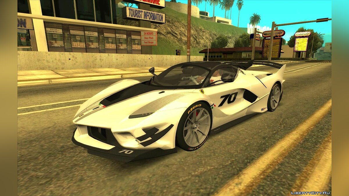 Ferrari car Ferrari FXX-K EVO for GTA San Andreas