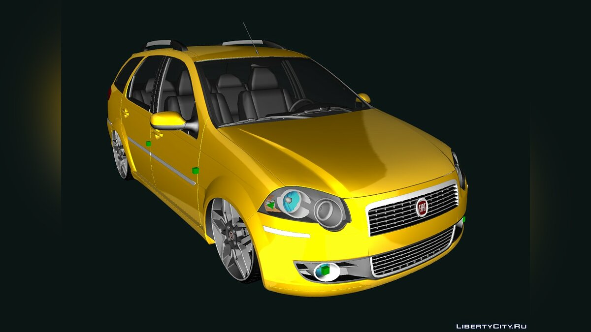 Fiat car Fiat new palio weekend 2009 for GTA San Andreas