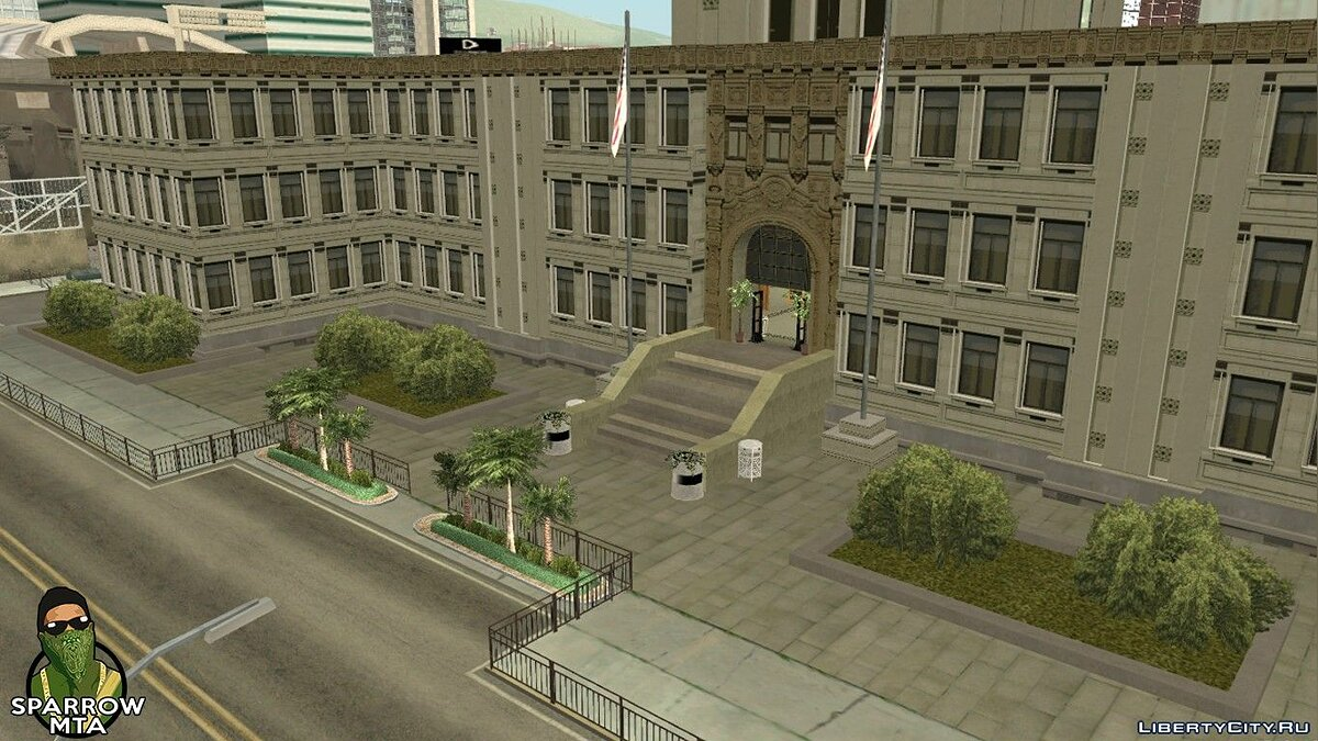 Filterscripts Updated police station for GTA San Andreas