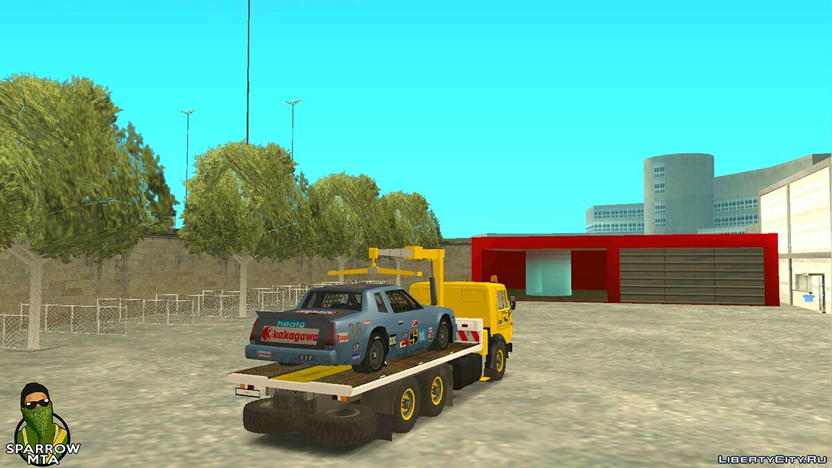 Filterscripts Work as a tow truck + KamAZ for GTA San Andreas