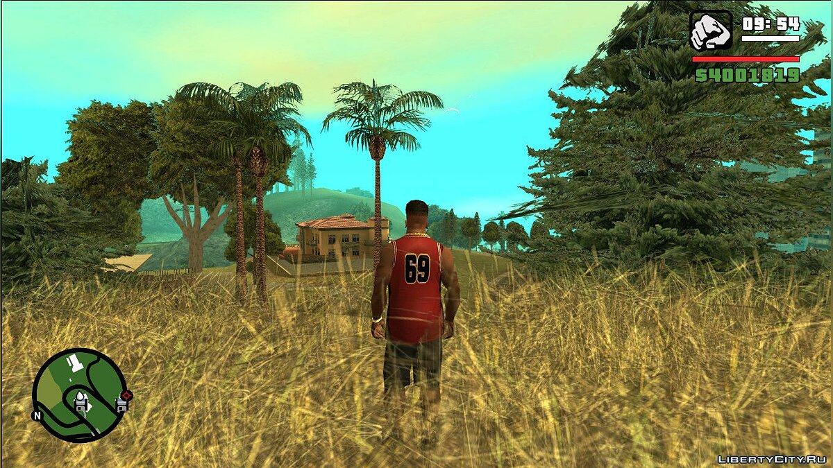Font Mobile HUD for GTA San Andreas