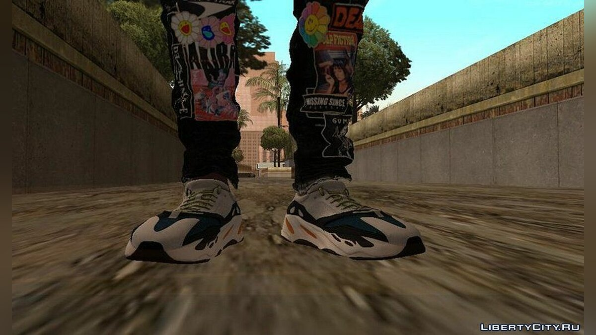 Boots Sneakers Yeezy / 00 for GTA San Andreas