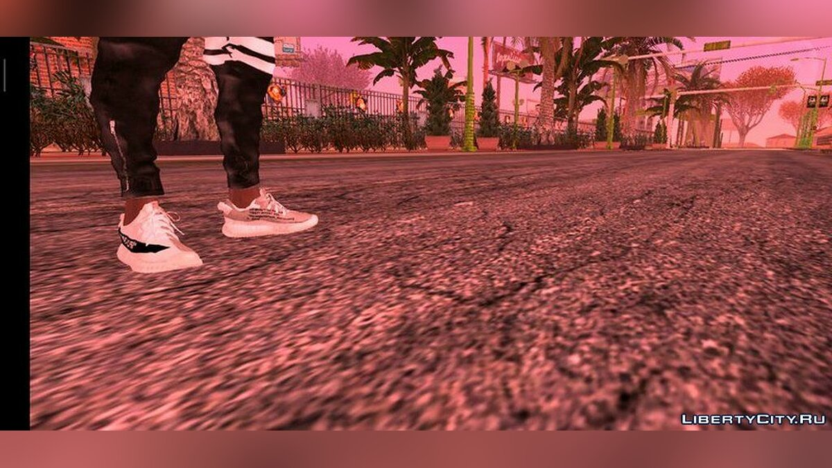 Boots Yeezy Boost 350 for Franklin for GTA San Andreas