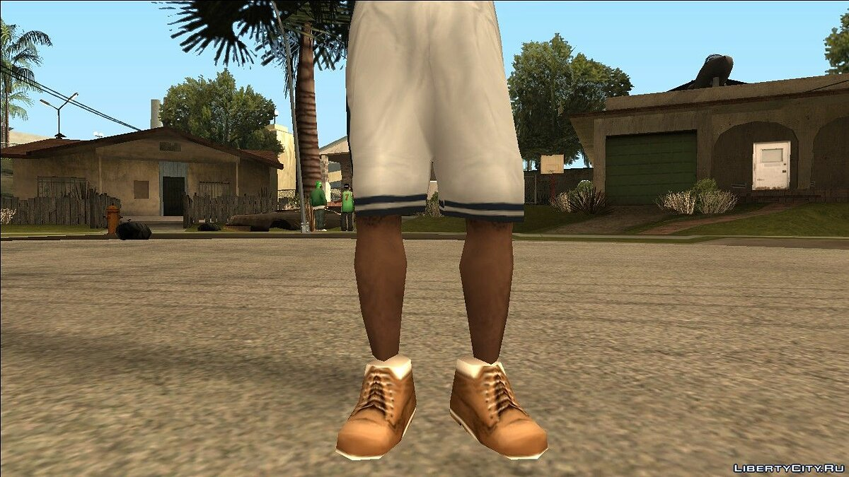 Boots Timberfawn boots for GTA San Andreas